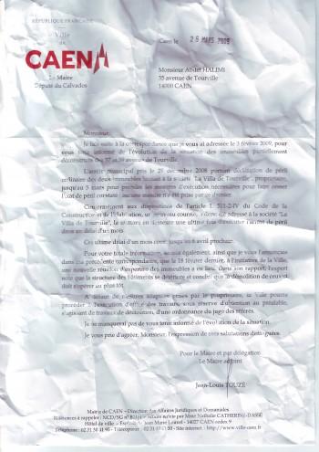 courrier TOUZE 25 mars 2009.JPG