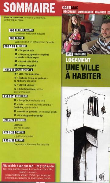 Caen Mag, une ville à habiter, Xavier LE COUTOUR, locatif social en centre-ville, accession à la propriété