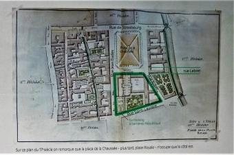 place de la République à Caen