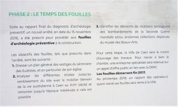 destruction de vestiges archéologiques, article 322-3-1 du Code pénal, archéologie préventive, place de la République Caen,