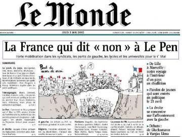 Charlie-Hebdo, unanimisme et récupération, Manuel Valls, Sarkozy, Le Pen, Chirac, Politis,