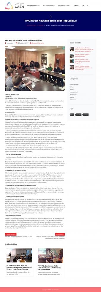 Caen, vente de la place de la République, centre commercial, Joël BRUNEAU, Sonia de la PROVÔTĖ, Cabinet Bérénice, Gilles GUĖRIN, Guillaume GUĖRIN, SEDELKA-EUROPROM, Michel LE LAN, SIREN 813 214 376, Le Triangle des Crêtes à Bretteville sur Odon, SEPHIE DEVELOPPEMENT SAS, DELPHINE JEAN INVESTISSEMENT, Projet République, projet Sedelka-Printemps, association Yes We Caen, université Rennes 2, IEP Rennes, master Maîtrise d'Ouvrage Urbaine et Immobilière (MOUI), master Gouverner les Mutations Territoriales (GMT), Malek REZGUI, Assistant à maîtrise d'ouvrage (AMO), Claude JEAN, Sébastien JEAN, Delphine JEAN, Karine JEAN, Laurent CHEMLA, BIENVENU architectes, Jean-Paul VIGUIER