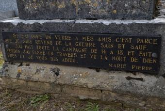 Tierceville, Maisy, Bény sur Mer, 14-18, Verdun