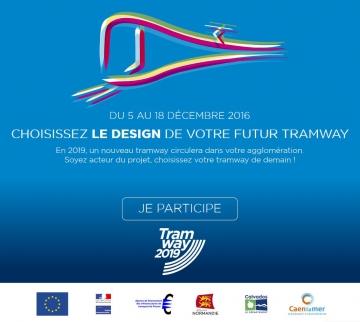 Caen, tramway, TVR Bombardier, Viacités, AFITF, Philippe DURON, François GEINDRE, Philippe LAILLERiller
