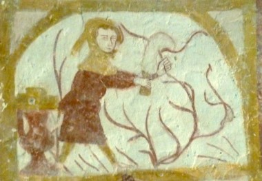 église Saint Martin de Sargé sur Braye, le Rustican ou Livre des Prouffitz champestres et ruraulx, sarments et promesses