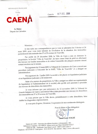 lettre Touzé 7 12 2009.JPG